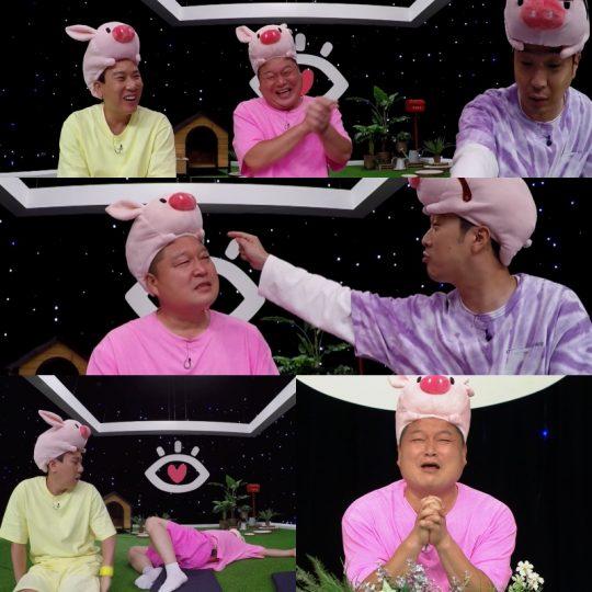 채널 A '아이콘택트'에 출연한 하하와 강호동. / 사진제공=채널A