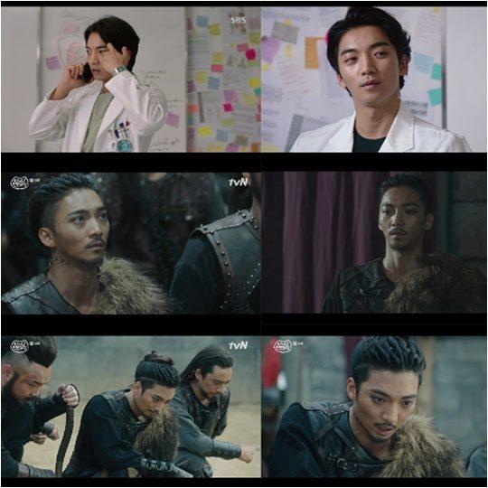배우 황희./ 사진=SBS '의사요한', tvN '아스달연대기' 방송 캡처