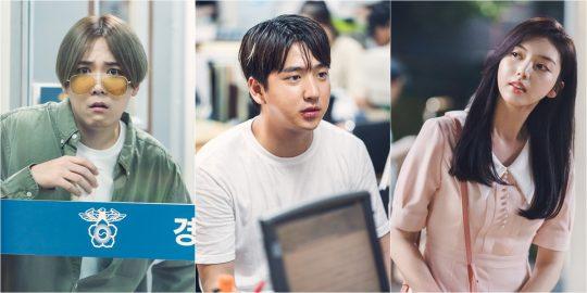 '날 녹여주오'에 출연한 배우 이홍기(왼쪽부터), 차선우, 채서진./사진제공=tvN