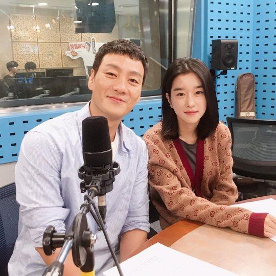 '양자물리학' 박해수-서예지 '최파타' 출연 인증샷./ 사진=최파타 인스타그램