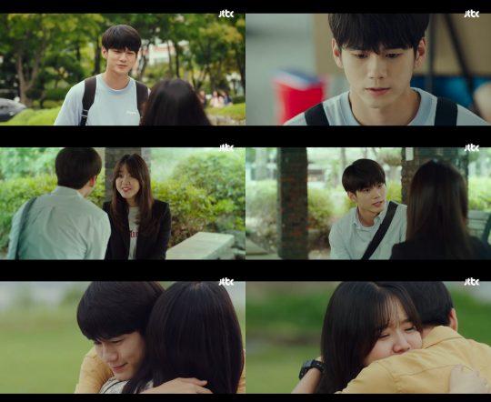 JTBC 월화 드라마 '열여덟의 순간' 방송화면.