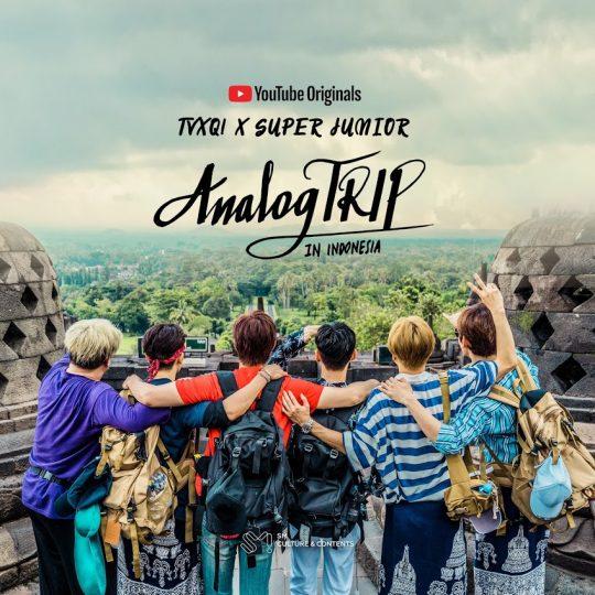 그룹 동방신기, 슈퍼주니어의 'Analog Trip' 포스터 / 사진제공=유튜브오리지널 Analog Tripㅗㅇ방시
