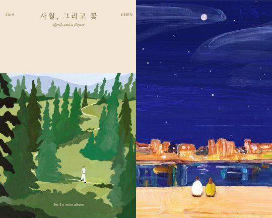 그룹 엑소 첸의 솔로앨범 이미지 / 사진제공=SM엔터테인먼트