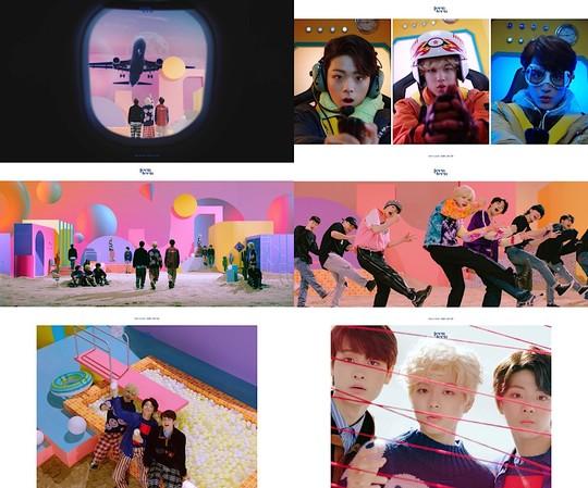 데뷔 앞둔 틴틴, 책임져요 MV 티저 공개 (사진=마루기획)