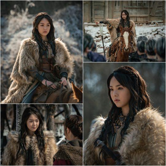 '아스달 연대기' 카라타 에리카. /사진제공=tvN