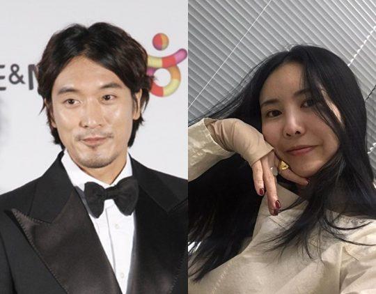 배우 김민준(왼쪽)과 지드래곤 누나 권다미./ 사진=텐아시아DB, 권다미 인스타그램
