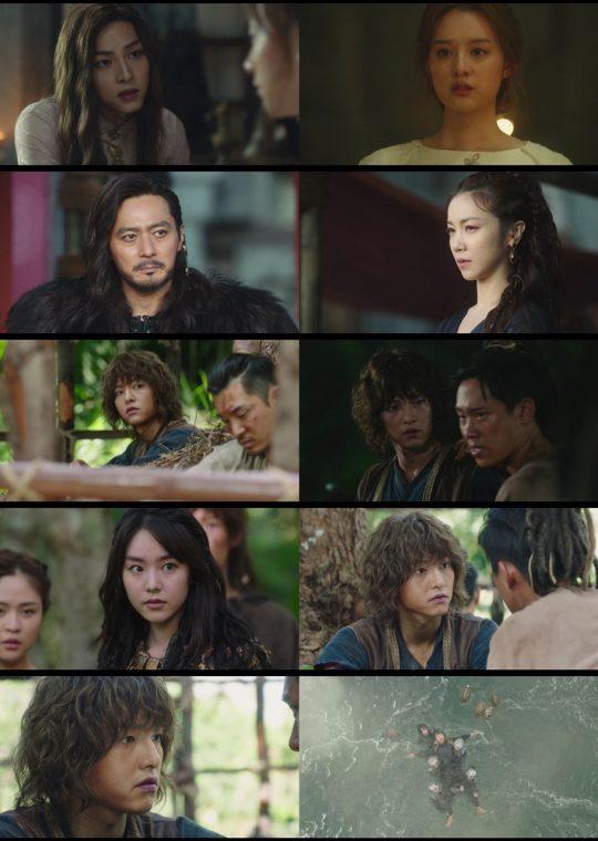 '아스달 연대기' 방송 캡처. /사진제공=tvN
