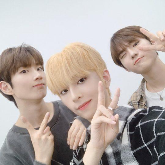 윤정환(왼쪽부터), 김시훈, 홍성준 / 사진제공=브랜뉴뮤직