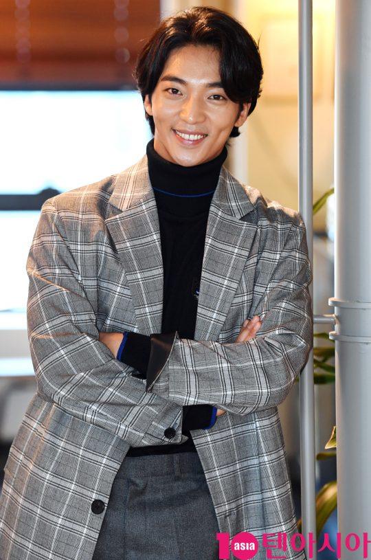 SBS 금토드라마 '의사요한'에서 마취통증의학과 전문의 이유준 역으로, tvN  '의사요한'에서 전사 무광 역으로 열연한 배우 황희. /조준원 기자 wizard333@