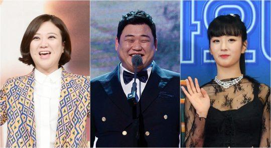 KBS 2TV '배틀트립'에 새 MC로 합류한 개그우먼 김숙(왼쪽부터), 개그맨 김준현, 에이핑크의 윤보미. /사진제공=KBS