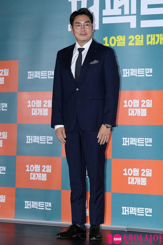 영화 '퍼펙트맨'에서 인생 역전을 꿈꾸며 깡 하나로 버텨온 꼴통 건달 영기를 연기한 배우 조진웅./  이승현 기자 lsh87@
