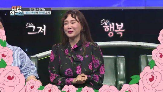 '대한외국인'에 출연한 개그우먼 정주리./사진제공=MBC에브리원