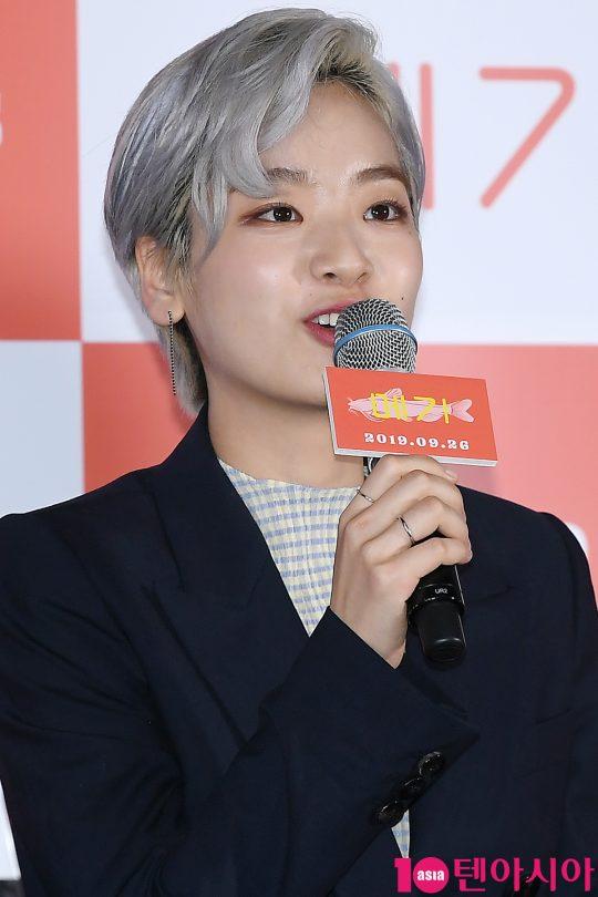 배우 이주영이 17일 오후 서울 한강로 CGV용산아이파크몰에서 열린 영화 '메기' 언론시사회에 참석했다. /이승현 기자 lsh87@