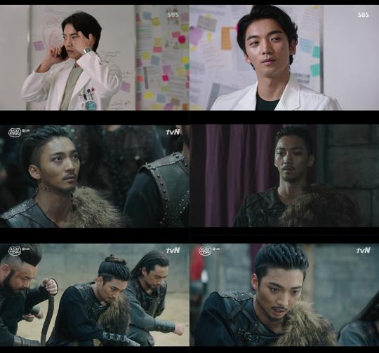 사진=SBS '의사요한', tvN '아스달 연대기' 방송 캡처