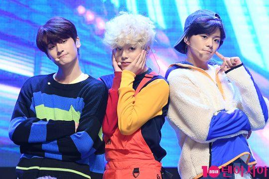 그룹 틴틴 이우진(왼쪽부터), 이진우, 이태승