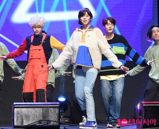 그룹 틴틴 이진우(왼쪽부터), 이태승, 이우진