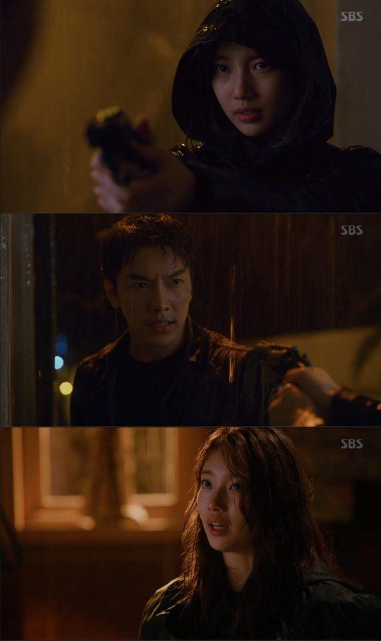 '배가본드' 수지-이승기./ 사진=SBS 방송화면