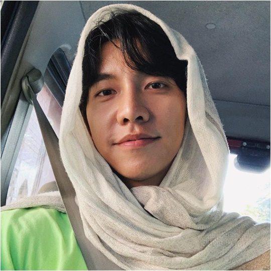 배우 이승기 인스타그램 캡처.