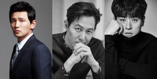 배우 황정민(왼쪽부터), 이정재, 박정민. /사진제공=CJ엔터테인먼트