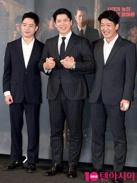 배우 김동영(왼쪽부터), 김상경, 허성태