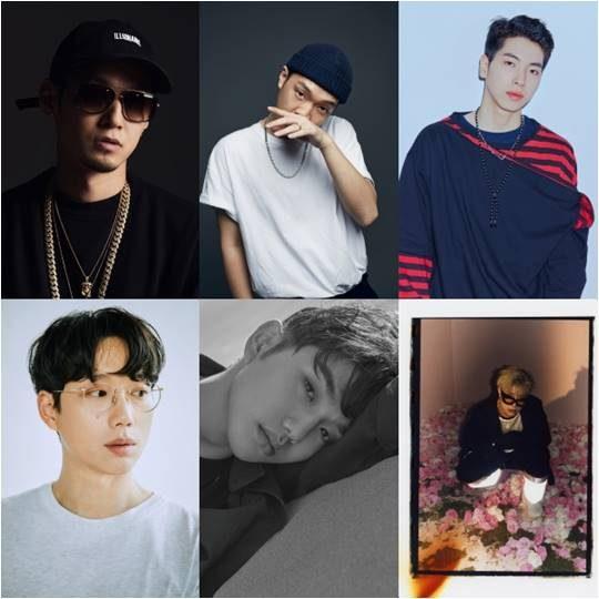 Mnet '쇼미더머니8' 파이널에 나오는 아티스트들./ 사진제공=Mnet