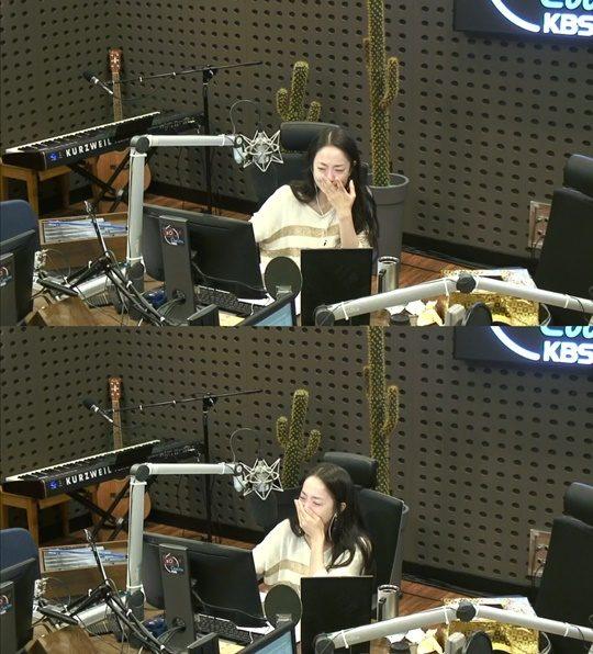 KBS 쿨FM '박은영의 FM대행진' 박은영 아나운서 / 사진=온에어 캡처
