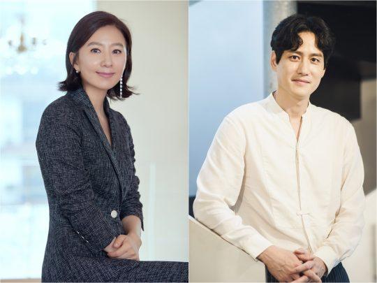 배우 김희애(왼쪽), 박해준. / 제공=드라마하우스