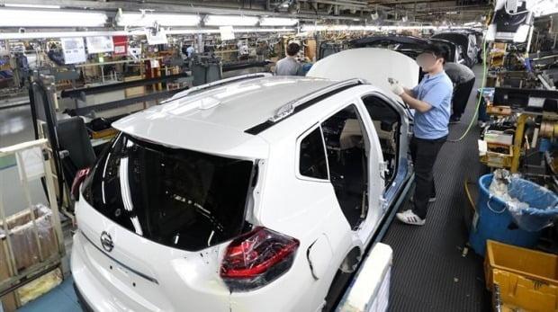 자동차 생산라인(자료 연합뉴스)