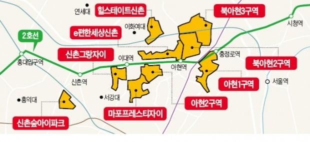 2호선 주변에 들어서는 신규 입주(분양)·재개발 아파트