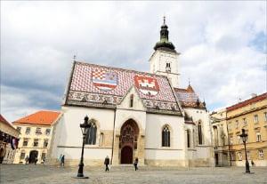 크로아티아 성 마르크 성당