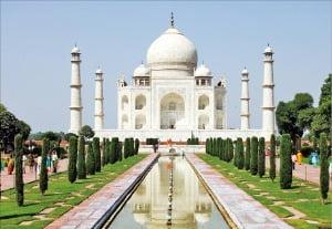 인도 아그라 타지마할