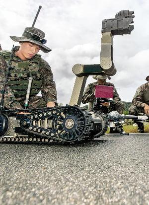 군사작전용 로봇