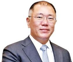 """정의선 현대차그룹 수석부회장 """"하늘 나는 車 개발하고 있다"""""""