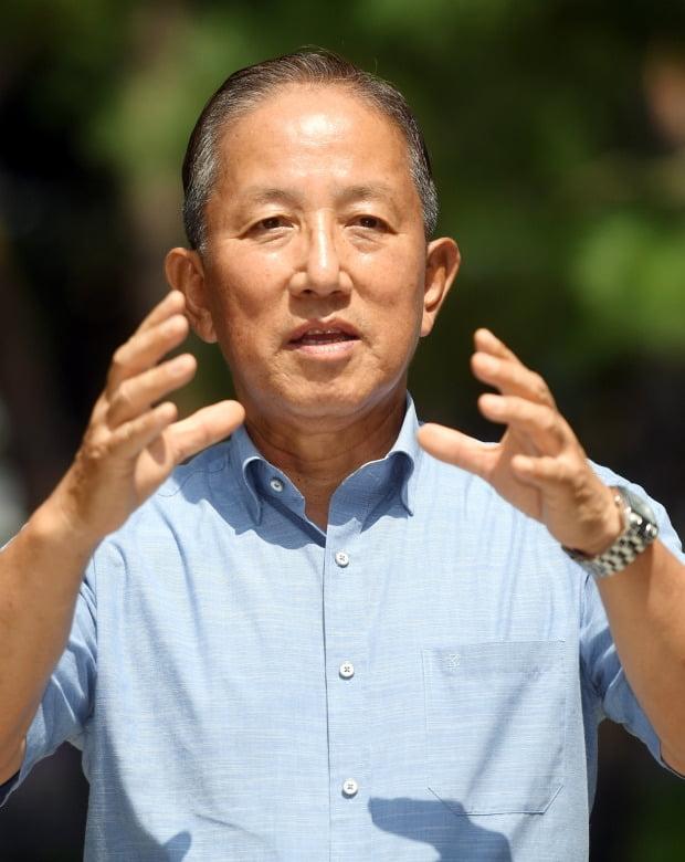 김태영 전 국방부 장관. 사진=허문찬 기자 sweat@hankyung.com