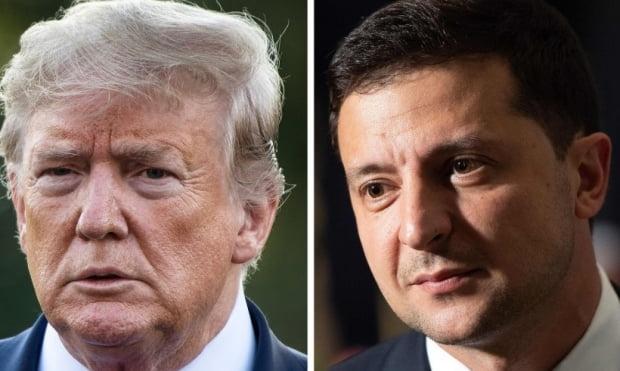 트럼프 대통령(좌)과 젤렌스키 우크라이나 대통령