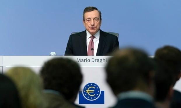 마리오 드라기 유럽중앙은행(ECB) 총재. 사진=EPA