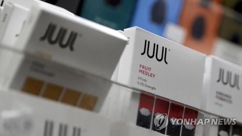 "FDA ""전자담배가 더 안전하다는 쥴 광고는 위법"""