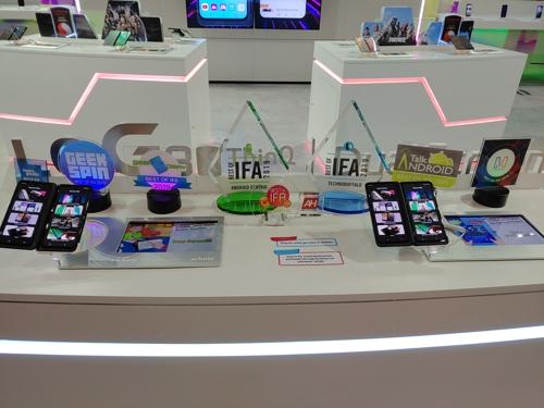 LG 스마트폰 V50S 씽큐, 9개 매체서 IFA 최고상 수상