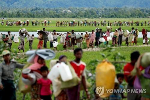 """유엔 조사단 """"미얀마 로힝야 탄압 아웅산 수치 책임도 따져야"""""""