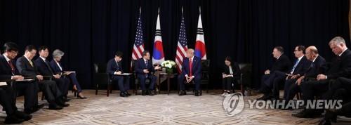 트럼프, 유엔총회 열린 뉴욕서 대북유화 메시지…전망엔 신중론