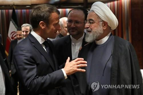 """이란 대통령 """"제재하에서 어떠한 협상도 부정적"""""""