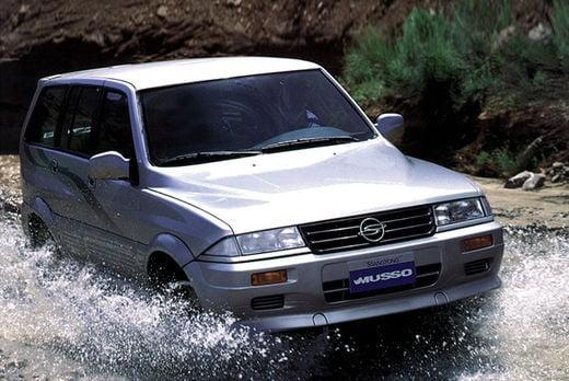 쌍용자동차가 1993년부터 2005년까지 생산·판매했던 중형 SUV 무쏘. 사진=쌍용자동차, 오토타임즈