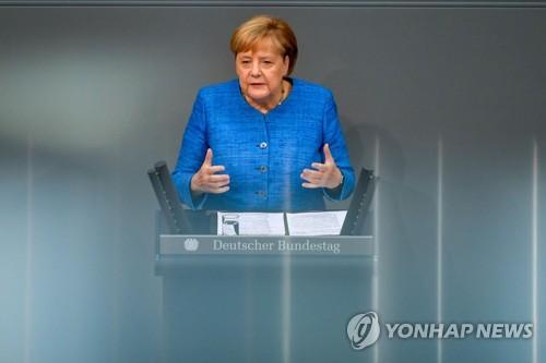 """메르켈 """"중국과 경제뿐만 아니라 인권문제 대화 필요"""""""