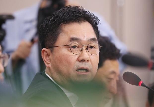 질의하는 김종민 의원 (사진=연합뉴스)