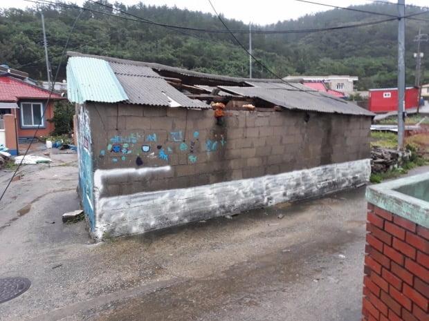 태풍 링링이 위치했던 전남 신안군 흑산면/ 사진=연합뉴스