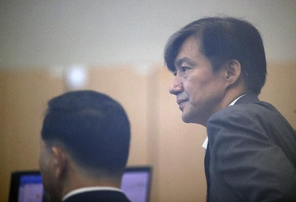 조국 법무부 장관. 연합뉴스