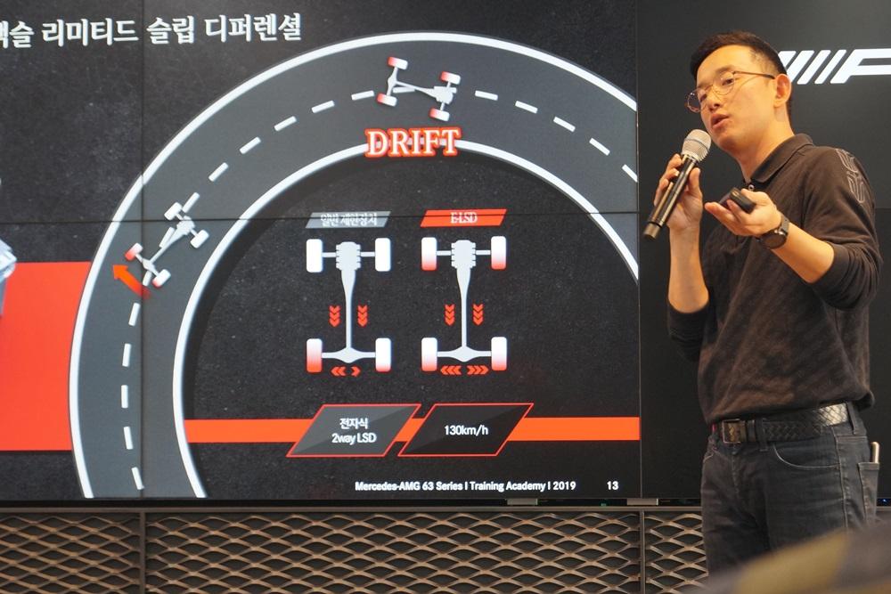 """AMG GT 4도어 쿠페는 여럿이서 즐기는 레이스카"""
