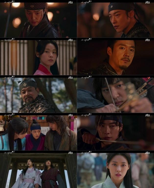 JTBC '나의 나라' 첫 방송 /사진=JTBC 방송화면 캡처