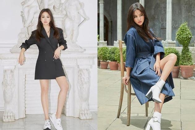 송혜교, 송중기와 파경 후 첫 SNS…'팜므파탈' 매력 물씬
