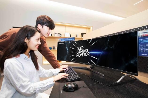 삼성전자는 올 상반기 전세계 게이밍 모니터 시장에서 점유율 1위를 차지했다고 9일 밝혔다.(사진=삼성전자)